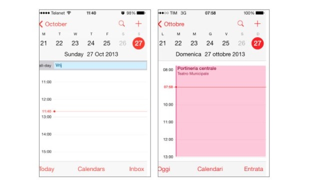 Daylight Savings Time issues with iOS 7
