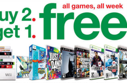 Ps4 and Xbox One release release date games are Buy Two Get One Free at Target.
