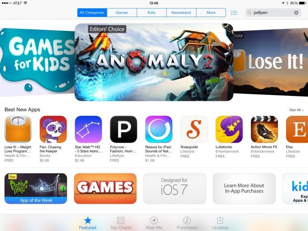 Apple iOS App Store