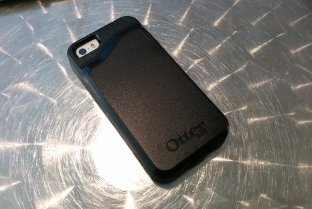 The case adds a little bulk, but that's a trade off for protection and a wallet in one.