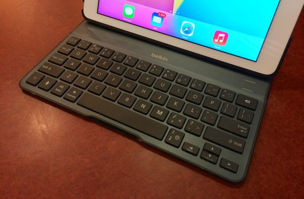 The Belkin QODE Ultimate iPad Air keyboard case is an excellent tool for mobile productivity.