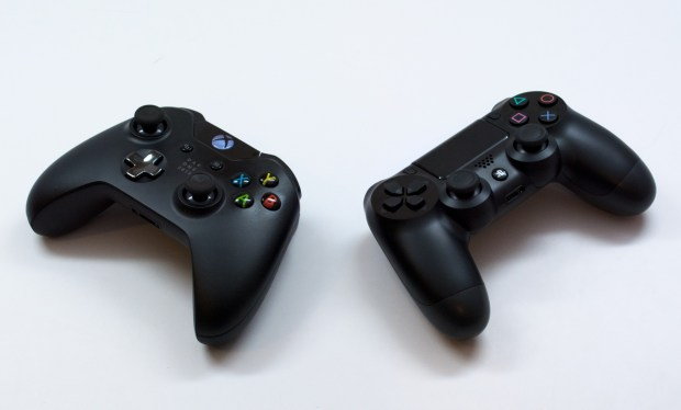 The PS4 controller and Xbox One controller are new for the new consoles.