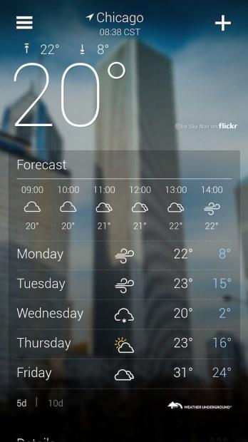 Yahoo! Weather