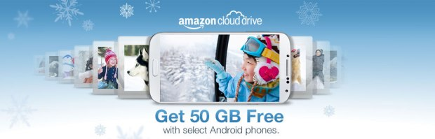 amazon 50gb free storage