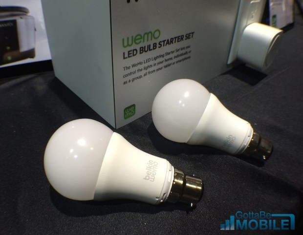 The WeMo bulbs are equivalent to a 60 watt bulb and should last 23 years.