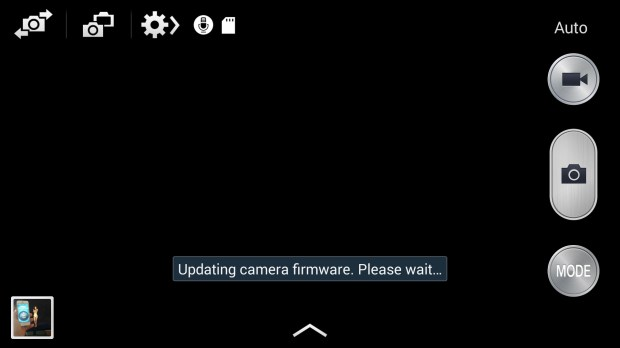 Samsung updates the camera firmware on the Galaxy S4.