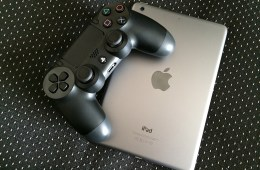 iPad gaming using a PlayStation controller