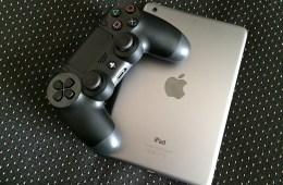 iPad gaming using a PlayStation controller