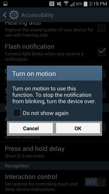 Flash-motion