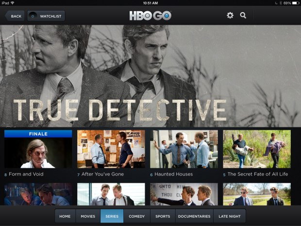 The True Detective finale broke HBOGo.