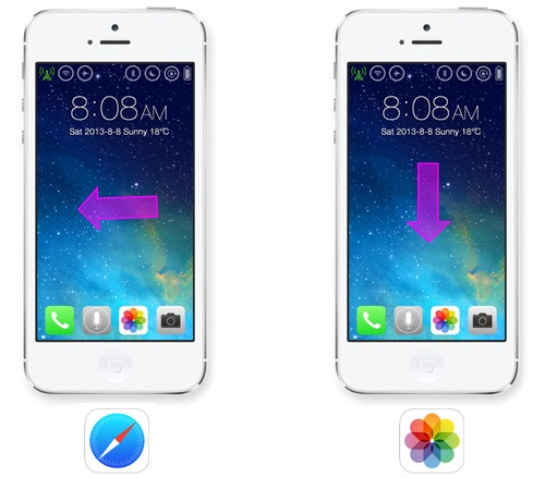 This new iOS 8 concept combines gestures and motion for a more intelligent iPhone experience.