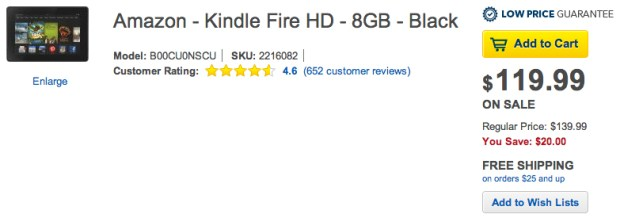Kindle Fire Sale