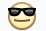 Facebook Emoticon Sunglasses