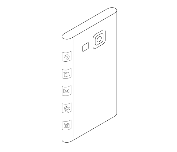 The Galaxy Note 4 could look like this.