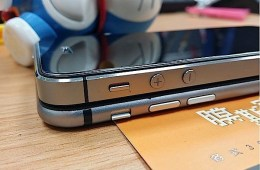 This shows just how thin the iPhone 6 could be.