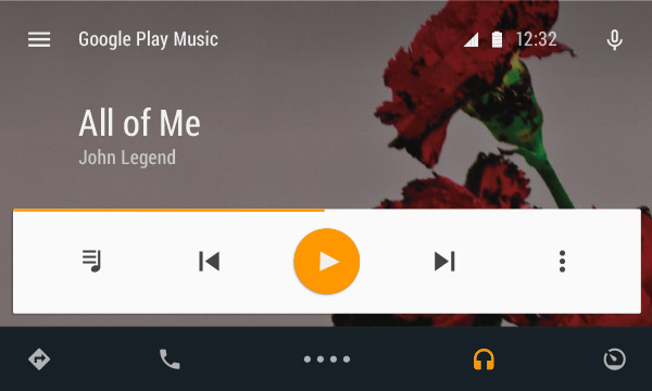 Users can control several music apps in Android Auto.