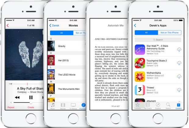 Family Share lets you share everything you need with family members from music and apps to calendars and location.