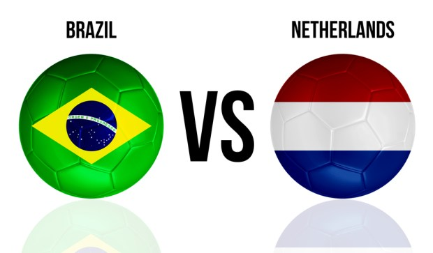 Watch the Brazil vs Netherlands live stream free.