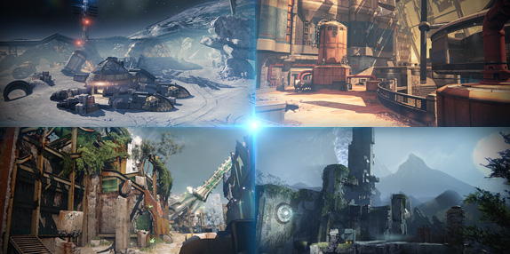 The Iron Banner offers access to four Destiny beta maps.