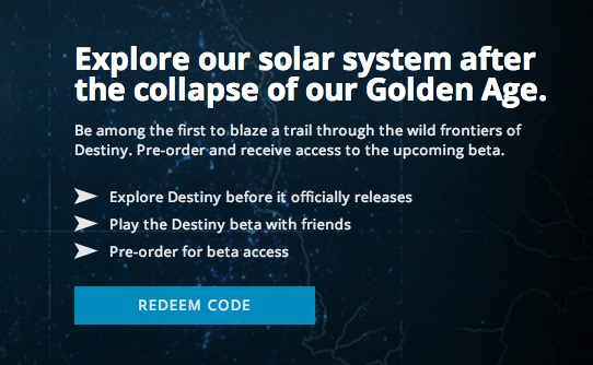 Here's what you need for the Xbox 360, Xbox One Destiny Beta.