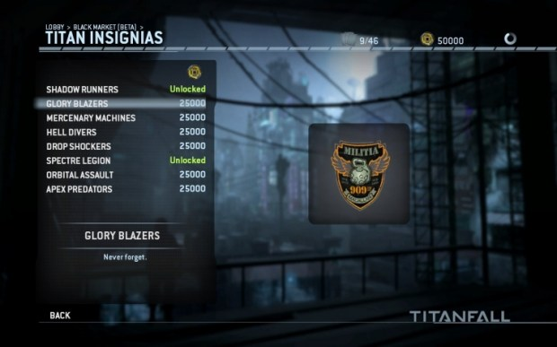 titanfall black market