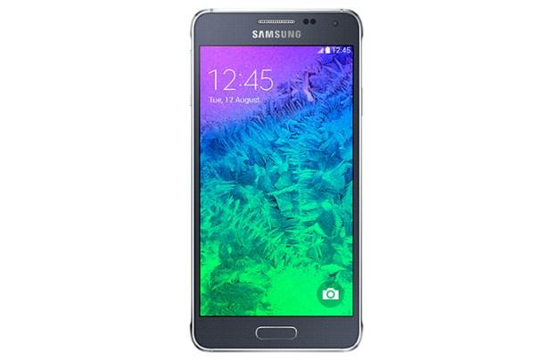 The Galaxy Alpha runs Android 4.4.4 KitKat.