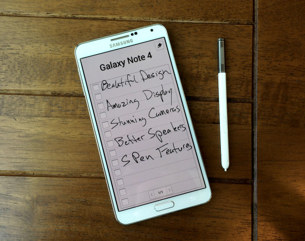 Watch our 10-minute Galaxy Note 4 video for a look at the latest Galaxy Note 4 rumors including features, specs, design and release date.