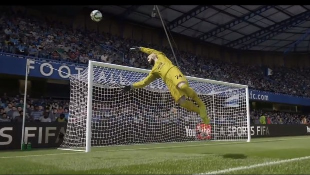 You can play the early FIFA 15 release for six hours.