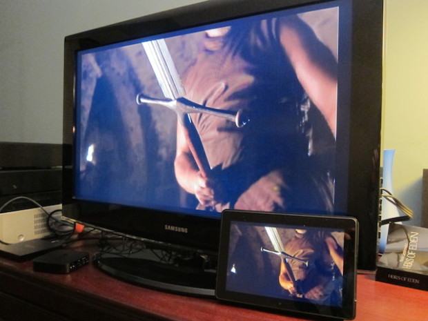Kindle Fire HDX to Fire TV mirroring supports HBO Go.