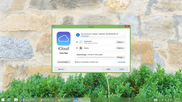 Prepare for iPhone 6 with iCloud for Windows (10)