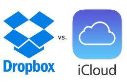 dropbox v icloud