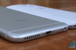 Two thin and powerful smartphones with big displays.