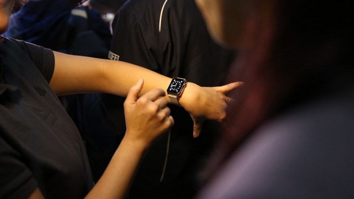 Expect to see Apple Watch pre-orders start before you can try one on in store.