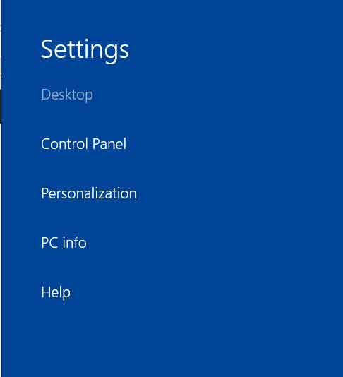 Settings or personalize the look and behavior of the surface pro 3