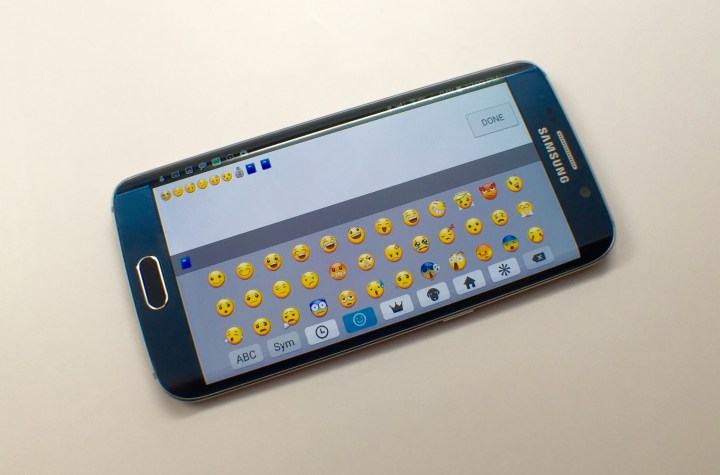 Here's how you can use the Galaxy S6 Edge and Galaxy S6 Emoji keyboard.