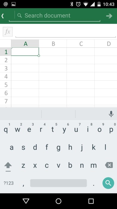 How to Use Microsoft Office Mobile on Android (12)
