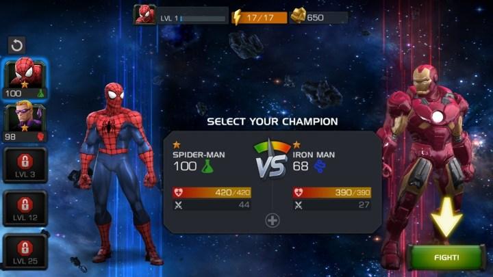 Marvel Contest of Champions (2)