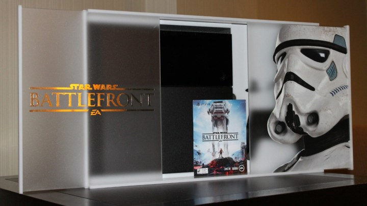 You can enter to win a special PS4 Star Wars: Battlefront bundle.