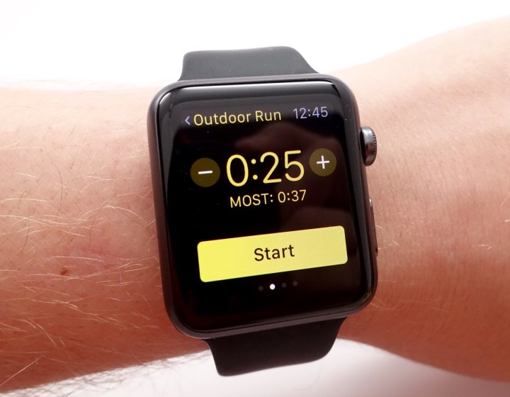 Use the Apple Watch to track fitness and health progress.