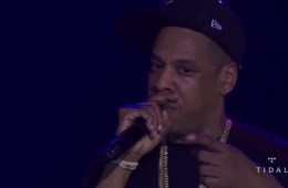 Watch the Jay Z Tidal freestyle that blasts Google, Apple, YouTube and Spotify.