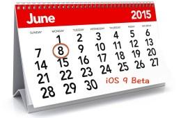 iOS 9 Beta Release Date