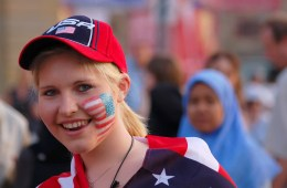 Fans are ready for the 2015 Women's World Cup. Cyril Hou / Shutterstock.com