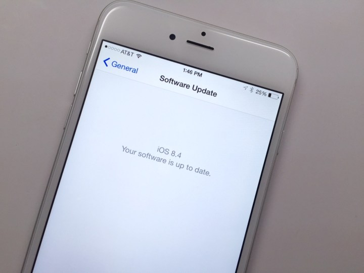 Read our iPhone 6 Plus iOS 8.4 review.