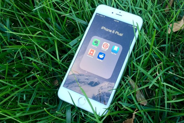 Best Smartphone for Seniors - iPhone 6 Plus - 2