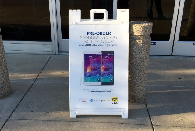 Look for a major Galaxy Note 5 release date trade in offer.