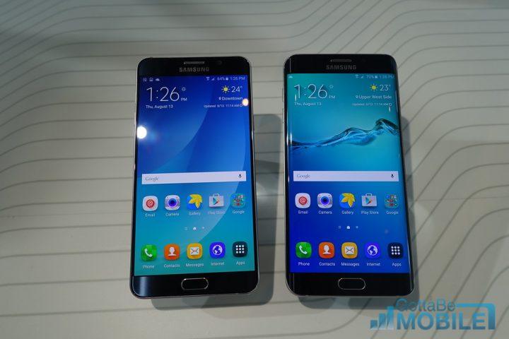 Galaxy Note 5 vs Galaxy S6 Edge Plus: Display