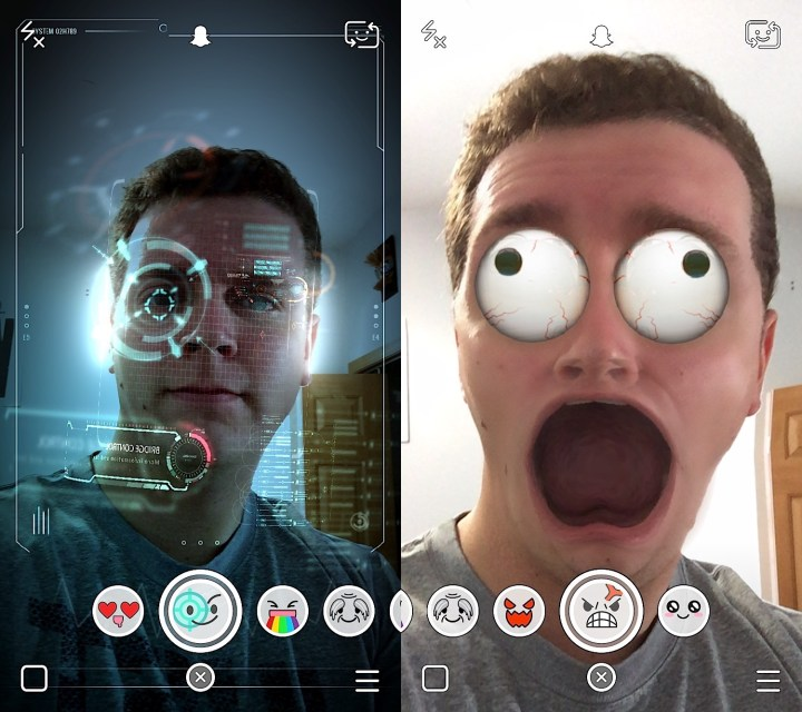 how to use the new snapchat update on android