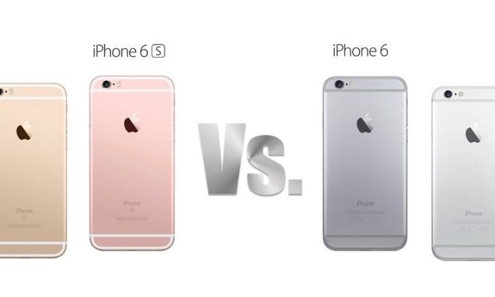 i phone 6s vs iphone 6