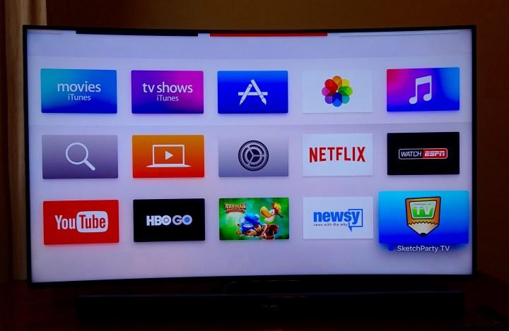Start downloading new Apple TV apps.