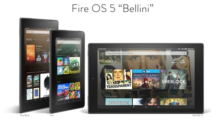 kindle fire os 5